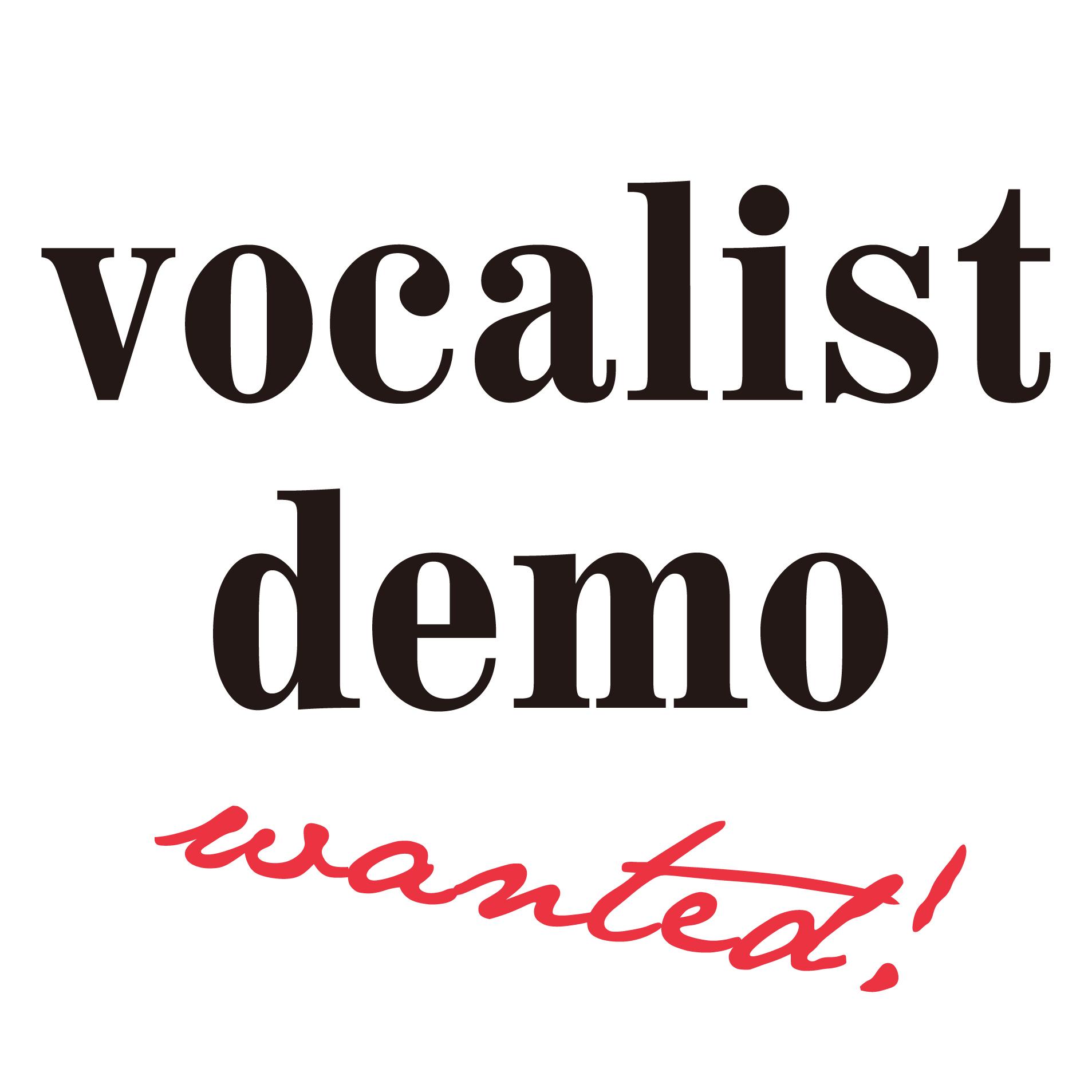 vocalist demo 募集