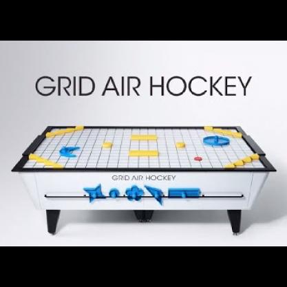 info:未来形のエアホッケー「GRID AIR HOCKEY」のサウンドデザインを手掛けました。